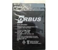 ORBUS- BAKIMSIZ KURU TİP AKÜ 6 Volt 4 AH