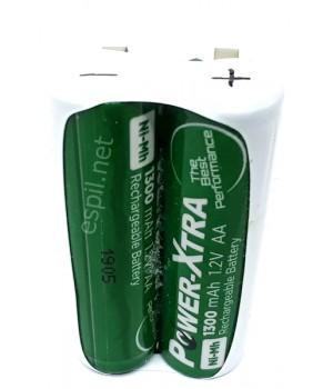 Traş Makinesi Şarjlı Pili- - 2,4 volt AA- (2'li AA)